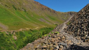 Picture of a rocky path